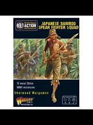 28mm Warlord Japanese Bamboo Spear Fighting Squad Bnib Wwii Bolt Action