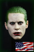 1/6 Joker Jared Leto Suicide Squad Head Sculpt For Hot Toys Phicen In Stock Usa