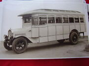 1922 Mack Bus Model Ab Rochester New York 11 X 17 Photo Picture