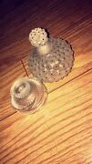 Lalilque Perfume 2 Pieces Empty Bottles Used Once Perfect Condition Glass