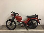 Amazing Deal For A Vintage Customised 1975 Puch Pinto Bike