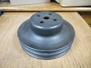 1966 1969 Ford 2 Groove Water Pump Pulley For A/c 289 302 390 428cj Mercury