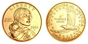 2005 Native American Sacagawea Dollar Coin Set P And D Business Uncirculated