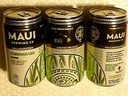 Limited Release Empty Maui Brewing Lemongrass Craft Beer 12oz Ribbed Can Hawaii