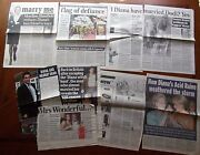 Princess Diana Inquest Hasnat Kahn Stepmother Raine Dodi Clippings From England