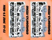 2 Ford Explorer Mountaineer 4.0 Sohc 97-06 Cylinder Heads Valandspr Only No Core
