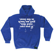 If You Can Read This Pull Me Back In Drowning Worms Hoodie Hoody Birthday Fish