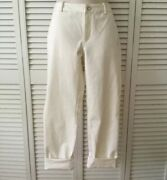 New Golf Ivory Pant Roll Up Or Down Legs Size 6 - Msrp 145.00