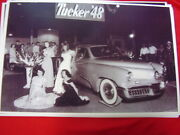 1948 Tucker And Beauty Queens At Auto Show  Big 11 X 17  Photo  Picture