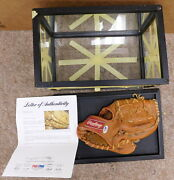 Mickey Mantle Signed Autographed Glove With Coa Psa/dna Collectible