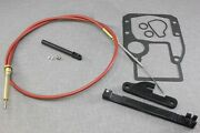 Omc Cobra Shift Cable 0985587 0987661 18-2245 Complete Kit And Adjustment Tools