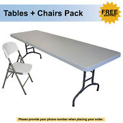 Banquet Hall Tables And Event Chair Combinations For Sale