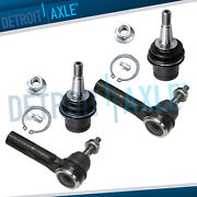 Front Lower Ball Joint And Outer Tie Rod End For Chrysler 300 Dodge Charger - Rwd