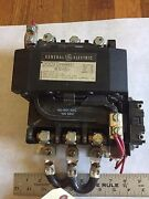 Used General Electric Cr305f0aakh Contactor Starter,coil 460-480v Size 4,boxyp