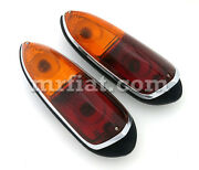 Apollo Gt Complete Rear Tail Light Set New