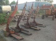 Three Allis Chalmers Rear Mounted Snap Couple Scraper Blade Oxnard Pick Up Only