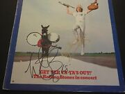Keith Richards Charlie Watts Signed Get Yer Ya Yaand039s Out Album Cover Jsa Proof