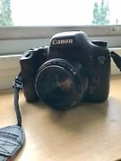 Canon 7d Dslr With 50mm F/1.8 Canon Lens Attached. Battery Included
