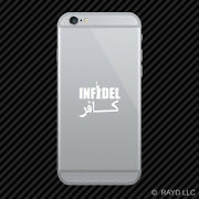 2x Infidel Cell Phone Sticker Mobile 2 Statue Of Liberty Many Colors