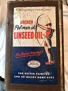 Vintage Antique Rare Archer 5 Gallon Linseed Oil Can