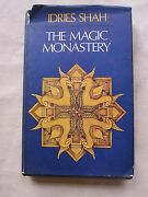 Old Book The Magic Monastery By Idries Shah 1972 1st Ed. Dj Gc