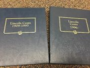 1937-2013 Pennies In Albums Red Bu And Proof 230 Coins Inc Wheat Cents 1c