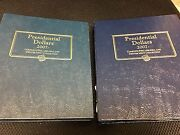 2007-2013 Set Presidential Dollars Bu P And D Position A And B 112 Coins 2 Albums