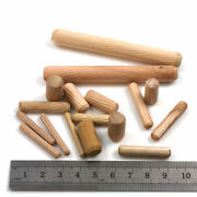 Wooden Dowels Woodwork Fluted Plugs 6 Widths + 8 Lengths Grooved Pins Hardware