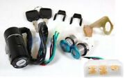 5 Wires Key Switch Ignition Set Scooter Moped Motorcycle Gy6 Atv Bike U Ks20s
