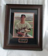 Al Kaline Photo Signed/matted/framed And Sold At A Tiger Charity Andndash Wow