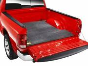 Bedrug Carpet Bed Mat 08-18 Chevy Silverado/gmc Sierra 6.5and039 Bed W/ Plastic Liner