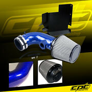 For 07-12 Bmw 328i E90/e92/e93 3.0l 6cyl Blue Cold Air Intake + Stainless Filter