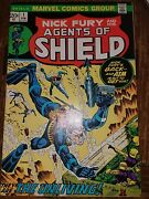 Shield [nick Fury And His Agents Of Shield] 1 Feb 1973, Marvel Kirby Art