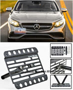 For 15-up Benz C217 S63 And S65 Amg Coupe 2dr Front Tow Hook License Plate Bracket