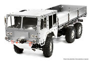 C25853silver Integy Alloy 6x6 7t Gl High-mobility Off-road Truck 1/10 Size Artr