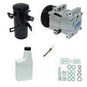 New A/c Compressor And Component Kit For F-150 F-250 Bronco F-350
