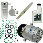 New A/c Compressor And Component Kit 1051066 - 1135415 Celebrity Cutlass Ciera C