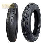 Front Rear Max Motosports Motorcycle Tires 90/90-18 And 130/90-15