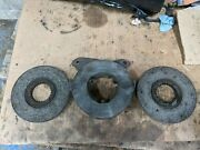 Brake Actuator And Brake Discs Removed From Fordson Super Major