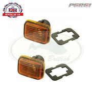 Land Rover Side Marker Lamp Set Pair Discovery I Range Defen Prc9916 Pr2 Perei