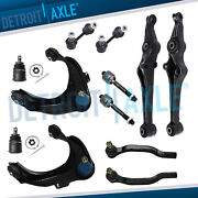 1998 1999 2000 2001 2002 Honda Accord 2.3l 12pc Control Arms Ball Joint Tie Rods