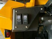 Can-am Commander Maverick Two Switch Dash Panel Plate Rocker Switches -usa-
