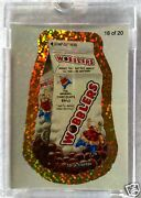 2010 Topps Wacky Packages Ans7 Gold Flash Foil Proof 1/1 Worldwide The Only One