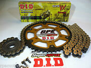 Triumph 600 Speed Four Supersprox Did 525 Gold X-ring Chain And Sprockets Kit
