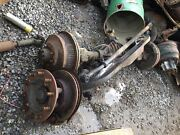 Spicer/international 8000lbs Capacity Front Axle 10 Hole Hub Pilot Disc Brakes