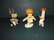 Extremely Rare Droopy Tex Avery And The Girl Demons And Merveilles Bust Statues Set