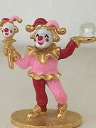 Figurine Clown- Goldplate And Enamel Pewter- Spoontiques Km1408