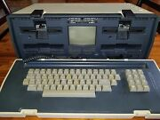 Osborne 1 Home Computer Serial 011472 With Original Software And Purchase Docs