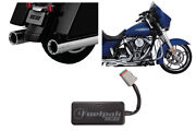 Vance And Hines Chrome Power Duals/os 450 Destroyer Slip-on /fp3 Fuelpak Hd Flh 17