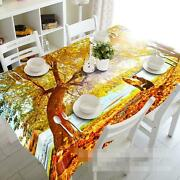 3d Tree Leaves 45 Tablecloth Table Cover Cloth Birthday Party Event Aj Wallpaper